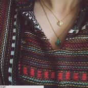 jewels,necklace,stone,turquoise,jewelry,beaded,baja,accessories,tina woods,tina,hippie,sweater