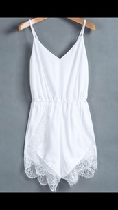 tank top,white,romper,lace,summer,shorts,short party dresses,short prom dress,white dress,sheinside,lace dress,lace up,summer dress,summer outfits,summer top,ebonylace.storenvy,sparkle,blouse,dress,fashion,style,girly,jumpsuit,tumblr,underwear