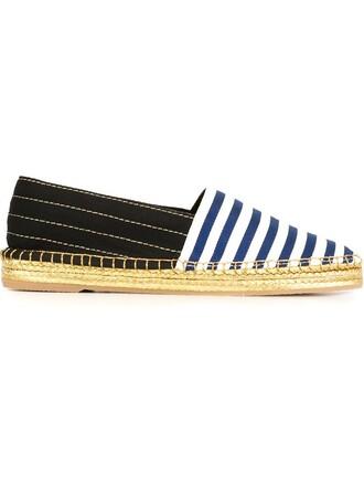espadrilles blue shoes