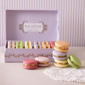 macaron trinket box by posh totty designs interiors | notonthehighstreet.com