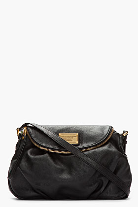 Marc By Marc Jacobs Black Classic Q Natasha Bag for women | SSENSE