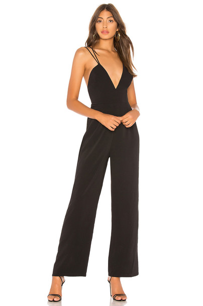 About Us Dee Jumpsuit in black