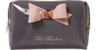 bag ted baker grey pink makeup bag