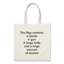 This contains a gun a bomb bags, this contains a gun a bomb tote bags, this contains a gun a bomb messenger bags