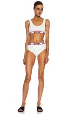 Moschino | Rib Cotton Underwear Set in White