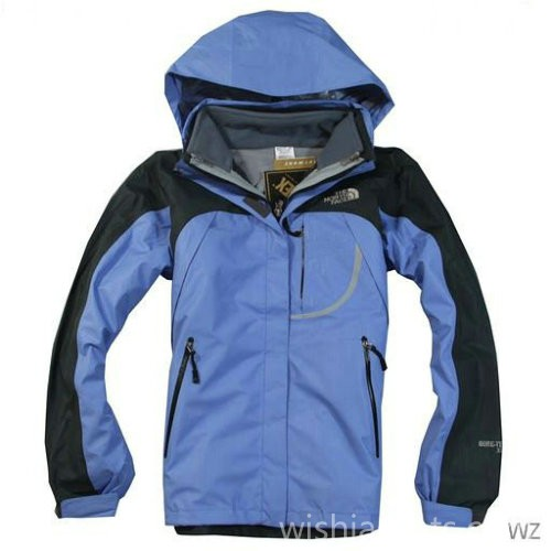 North Face Canada Womens Waterproof Jacket Blue Bj130305