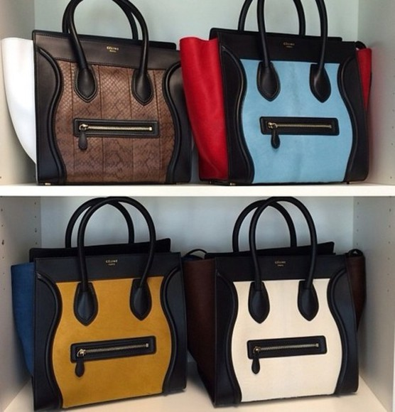 bag celine knockoff leather bag