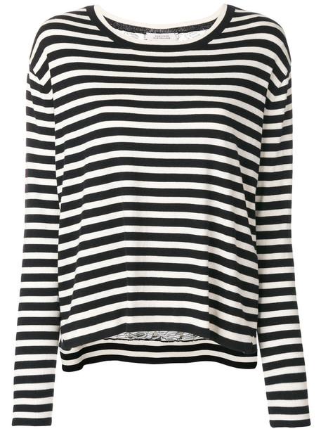 Dorothee Schumacher - fine knit jumper - women - Silk/Polyamide/Spandex/Elastane/Cashmere - 1, Black, Silk/Polyamide/Spandex/Elastane/Cashmere