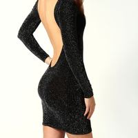 Magical night black sparkle backless dress · fashion struck · online store powered by storenvy