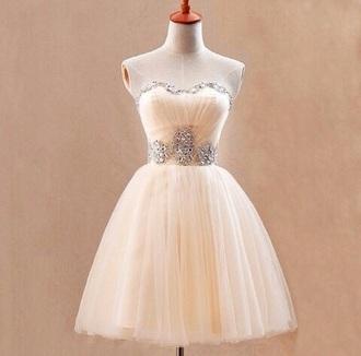 dress white dress strapless dress short dress