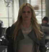jacket,emma swan,jennifer morrison,leather jacket,leather boots,t-shirt,once upon a time show