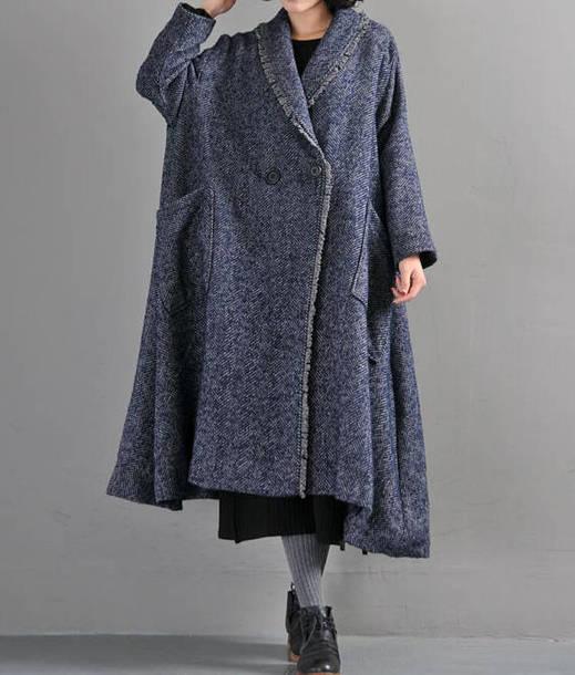 coat blue overcoat