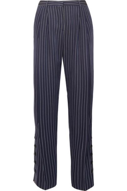 Altuzarra pants wide-leg pants blue