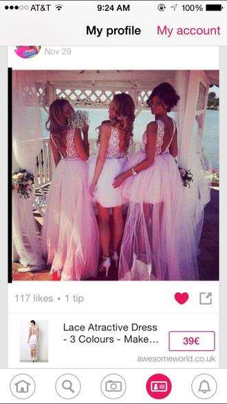 dress white dress lace dress backless dress short dress prom dress formal dress wedding dress beach wedding