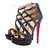 Best Selling Christian Louboutin Balota Glitter 150mm Sandal Booties Black - Luxury Bridal Shoes