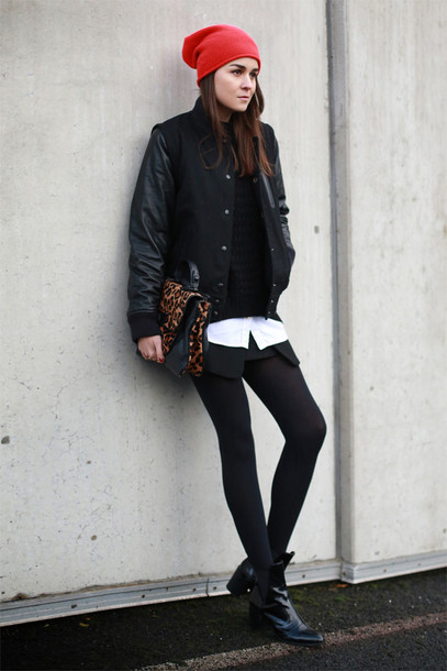 style scrapbook jacket sweater hat shoes skirt bag