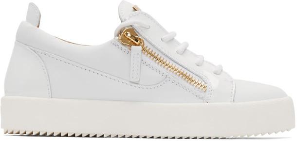 Giuseppe Zanotti london sneakers white shoes