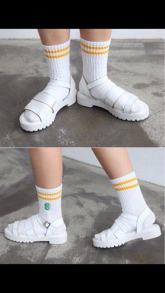 shoes sandals white shoes