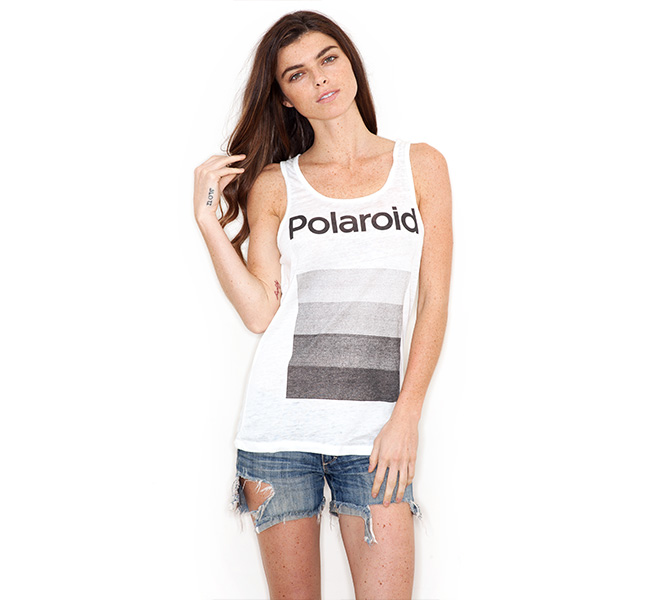 Polaroid apparel