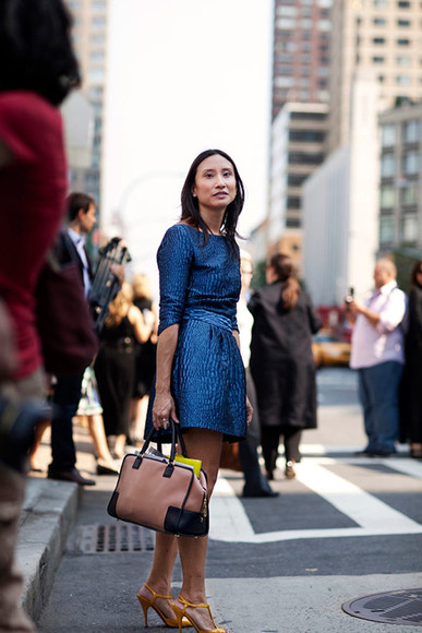 sartorialist bag dress