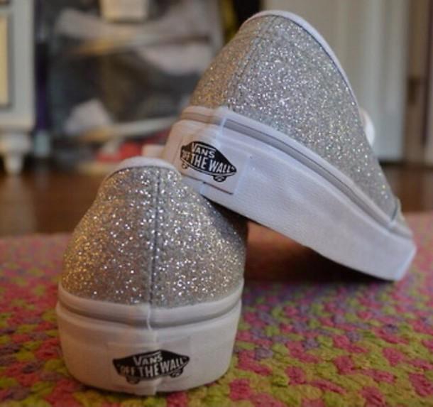 shoes vans shiny