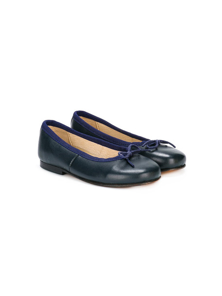 Oscar De La Renta Kids pumps leather blue 24 shoes