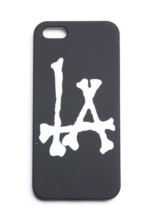 bag los angeles bones black white iphone 5 case