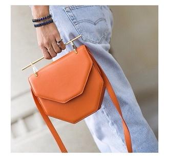 bag rust leather bag