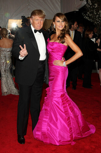 pants donald trump melania trump pink dress mermaid prom dress mermaid red carpet dress red carpet menswear mens pants mens suit mens shirt mens blazer mens shoes