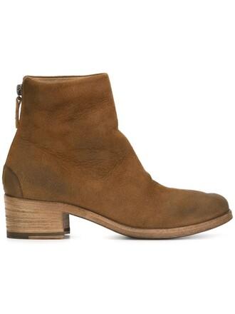 heel wood boots heel boots brown shoes