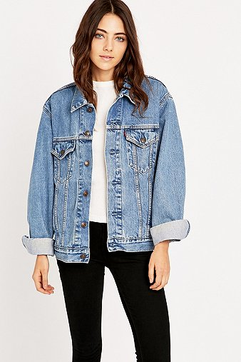 Urban Renewal Vintage Originals '90s Levis Blue Denim Jacket - Urban Outfitters