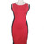 slimming Celeb Women's Optical Illusion Bodycon Stretch Party Pencil Dress D557 | Amazing Shoes UK