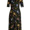 Glenys floral-print jersey dress