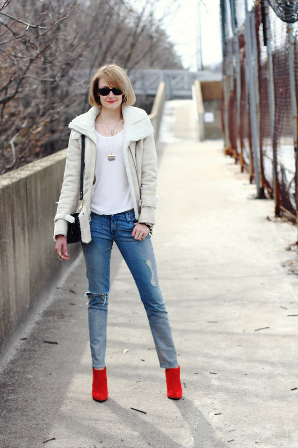 district of chic sunglasses jewels jacket t-shirt shoes bag