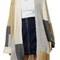 Topshop patchwork oversize open cardigan | nordstrom