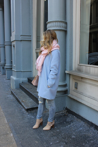 shoes bag jeans coat scarf a fashion love affair