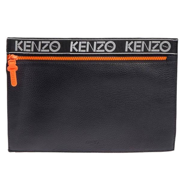 Kenzo women bag clutch shoulder bag black
