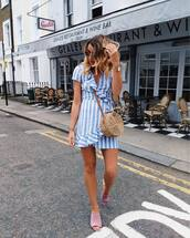 dress,dressb,blue dress,short d,short dress,bag,shoes,sunglasses