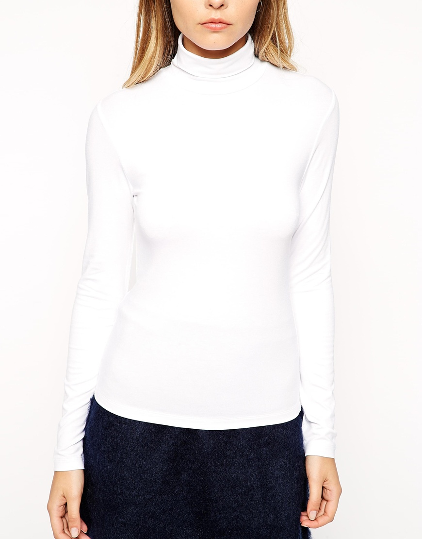 ASOS Top with Turtle Neck at asos.com