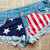 Free Shipping New Women Fashion Short Denim Cowboy USA Flag Short Pants Shorts on Luulla
