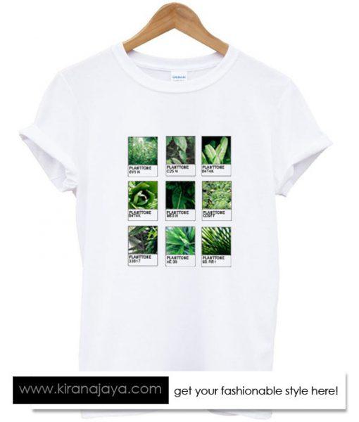 Planttone Plants Leaf Tshirt – Kirana Jaya