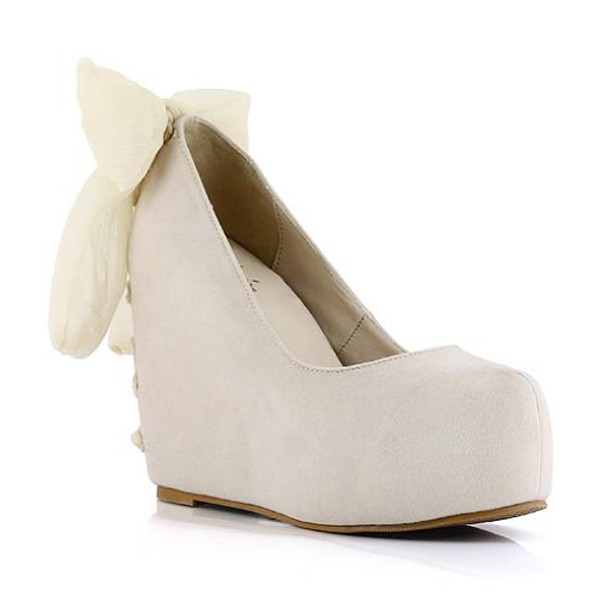 Womens wedge dress shoes