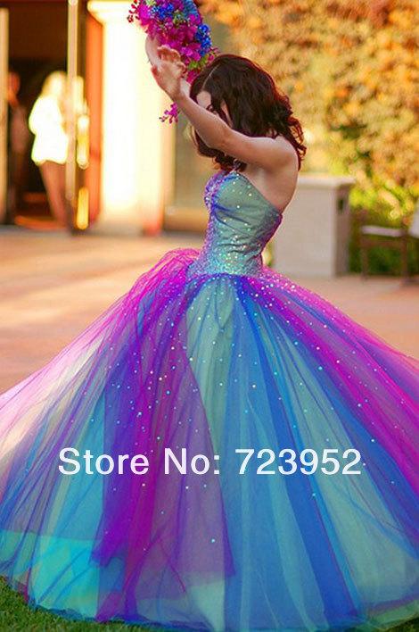 Aliexpress.com : Buy 2014 New Fashion Chic Sweetheart Rainbow ...