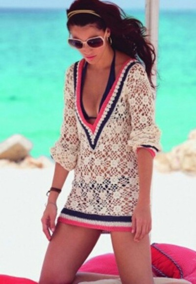 swimwear beach cover up