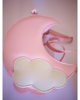 Sweet Moon Cloud Lolita Shoulder Bag 6 Colors $30.99-Girls Sweet Bags - My Lolita Dress