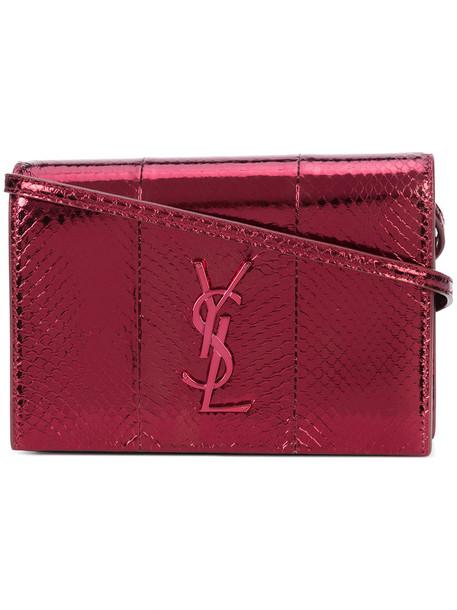 Saint Laurent women bag red