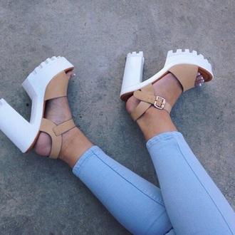 shoes high heels heels cute high heels platform high heels