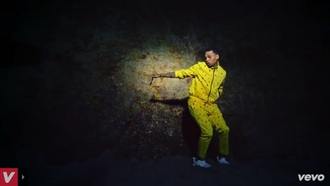 chris brown tyga yellow tracksuit dope sweater t-shirt
