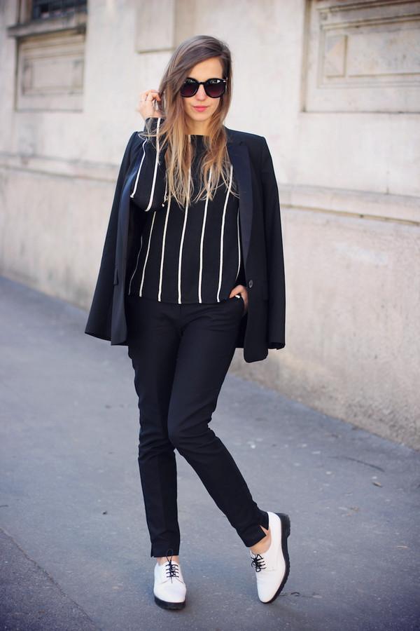 fashion quite sweater pants sunglasses bag shoes