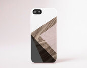 phone cover,iphone 6 case iphone 5 case wood print geometric modern iphone case pantone color pastel pink